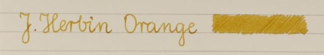 J. Herbin Orange Rhodia