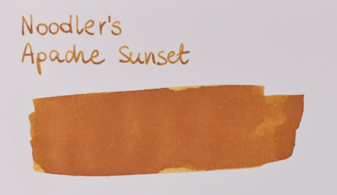 Noodler's Apache Sunset Clairefontaine