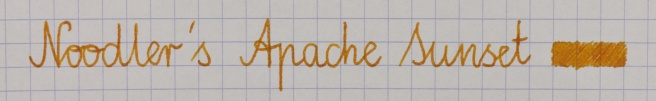 Noodler's Apache Sunset Oxford