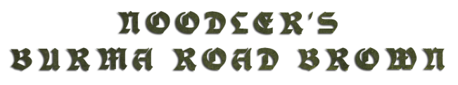 Noodler's Burma Road Brown nazwa