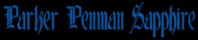 Parker Penman Sapphire nazwa